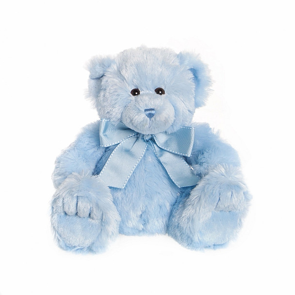 Blue Teddy Perfect For It's A Boy Gift Baskets