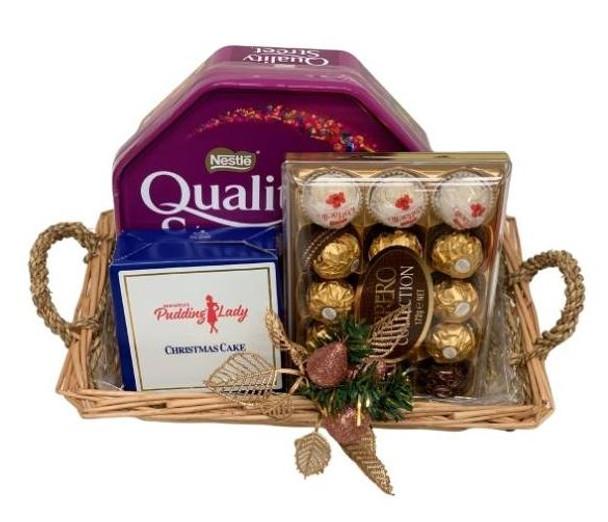 Small Christmas Gift Basket