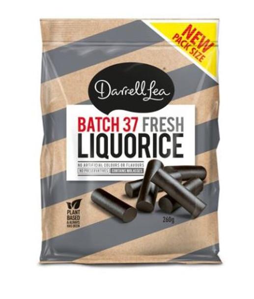 Darrell Lea Batch 37 Fresh Liquorice