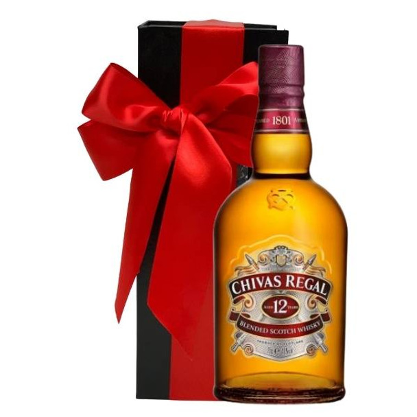 Chivas Regal 12 Year Old Blended Scotch Whisky 700mL - Gift Box