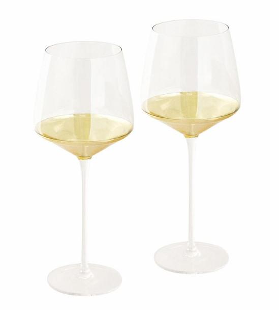 Estelle Crystal Wine Glasses Set of 2 - Cristina Re