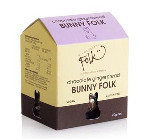 Gingerbread Folk Mini Folk Bunnies Box 70g