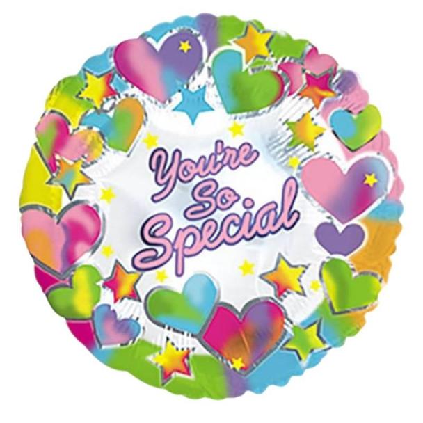 """Foil Balloon 9"""" (22.5cm Dia) You're So Special"""