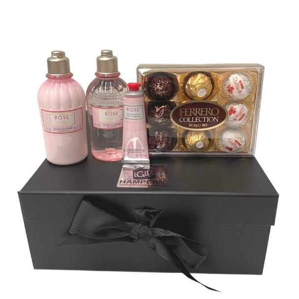 Rose L'Occitane Gift Set Hamper