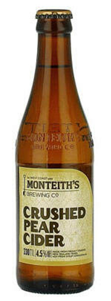Monteith's Crushed Pear Cider 330ml