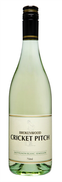 Brokenwood Cricket Pitch Sauvignon Blanc Semillon 750ml - White Wine