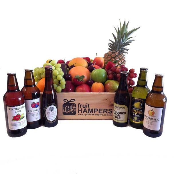 Fruit Hamper and Cider