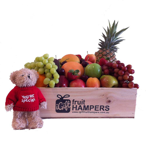 You're Special Message Bear Hamper