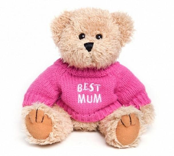 """Message Bear - """"Best Mum"""""""
