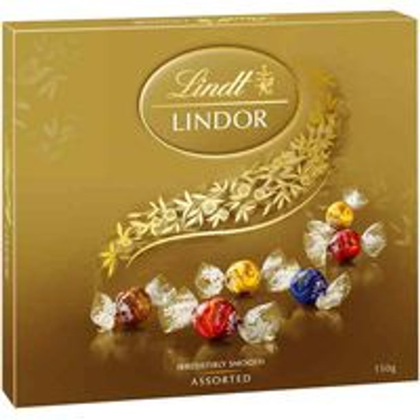 Lindt Lindor Assorted Chocolates 150g
