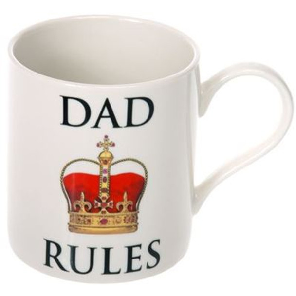Dad Rules Fine China Tea or Coffee Mug