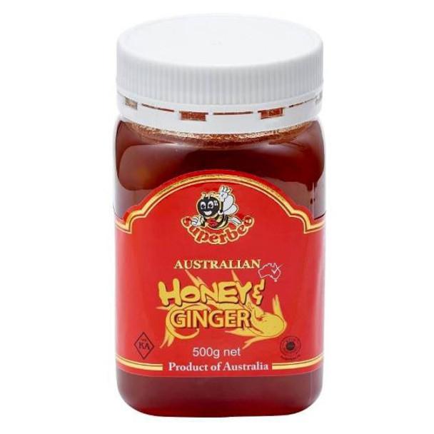 Australian Honey and Ginger 500g - Superbee