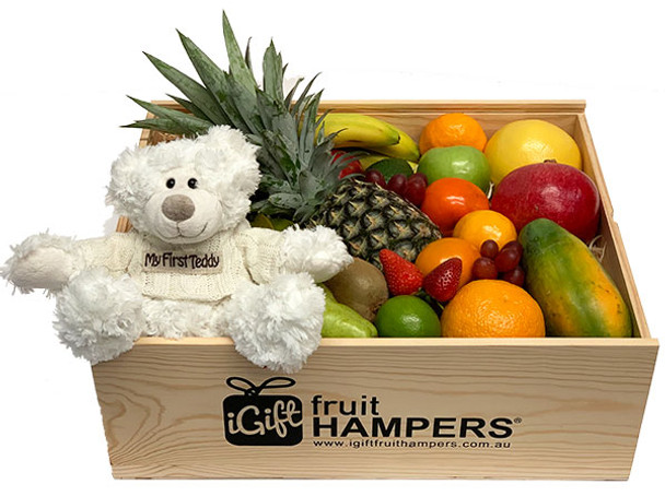 My First Teddy Bear Gift Hamper with Free Delivery