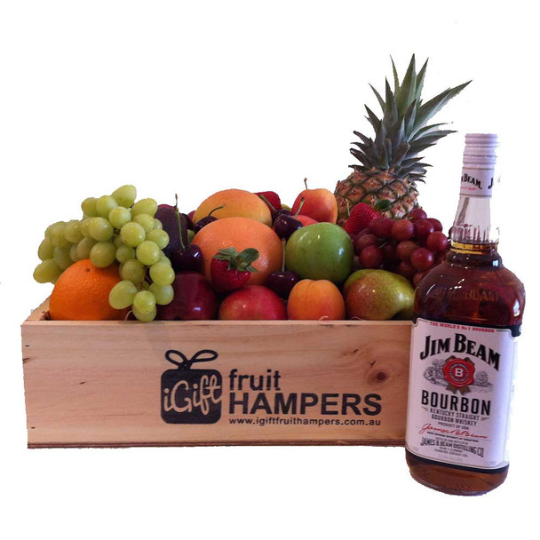 Fathers Day Hamper with Jim Beam Gift