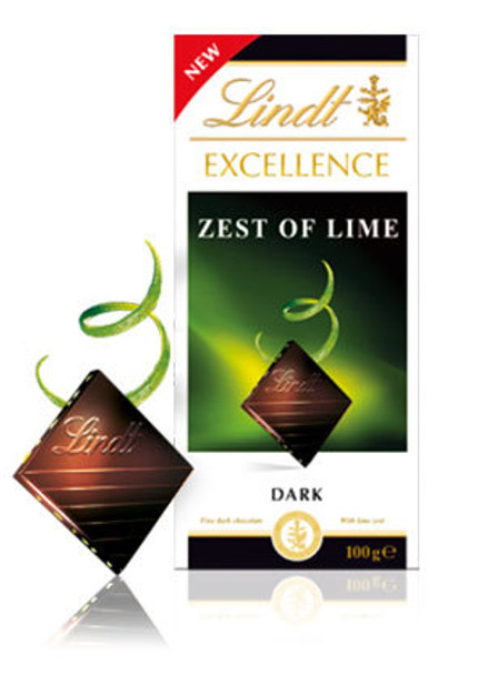 Lindt Lime Intense Dark Chocolate with Lime Zest