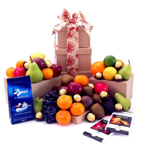 Christmas Gift Ideas - Fruit Tower - Free Delivery