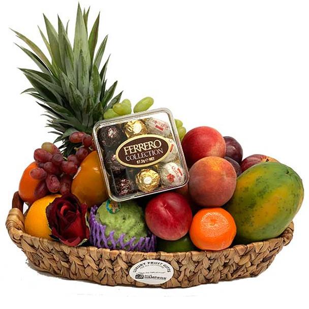 Fruit Basket + Chocolates - Ferrero T9