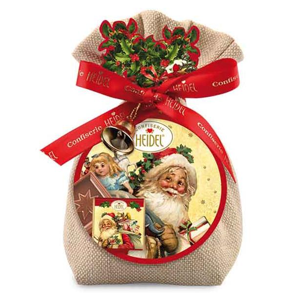 Heidel Xmas Friends Bag Chocolate Gift - 158g