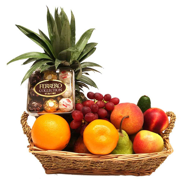 Small Fruit Basket + Ferrero Chocolates