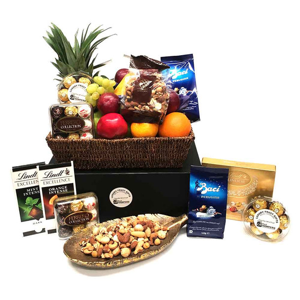 Gourmet Chocolate Fruit and Nut Baskets