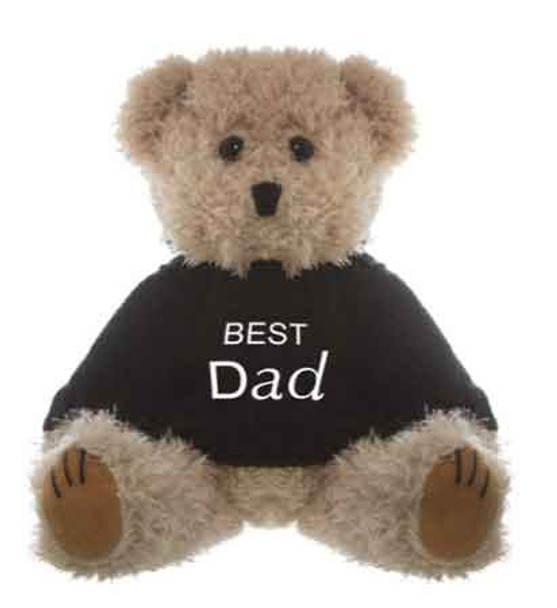 Best Dad - Message Bear Teddy