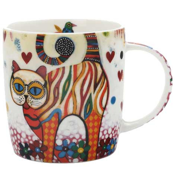 Maxwell & Williams Smile Style Tabby Mug with Gift Box
