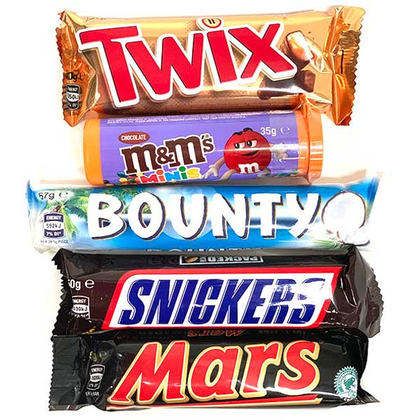 Chocolate Lucky Dip Mix x 5