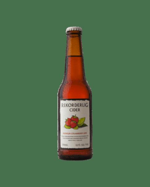 Rekorderlig Premium Strawberry & Lime Cider 330ml