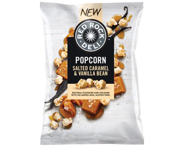 Red Rock Deli Gluten Free Salted Caramel and Vanilla Bean Popcorn