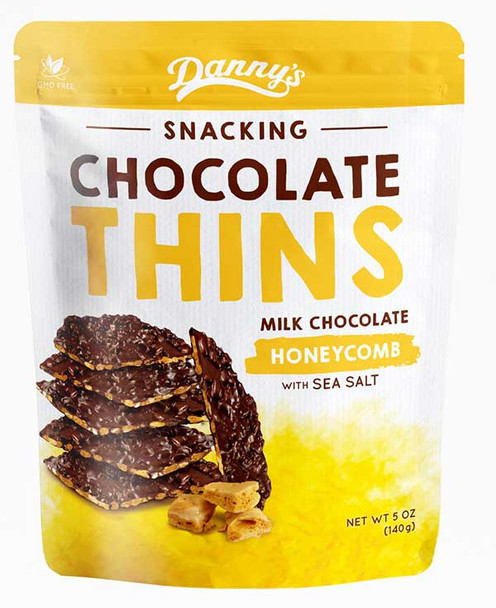Danny's Snacking Chocolate Thins Honeycomb
