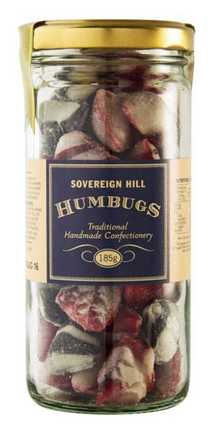 Sovereign Hill Confectionery Humbugs 185g - Handmade