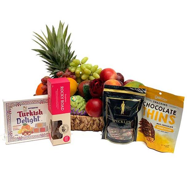 Gift Basket Sweet Treats & Chocolates