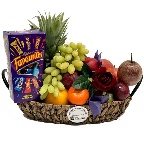 Gift Basket + Chocolate Favourites