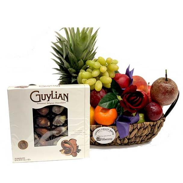 Belgian Chocolate Gift Basket