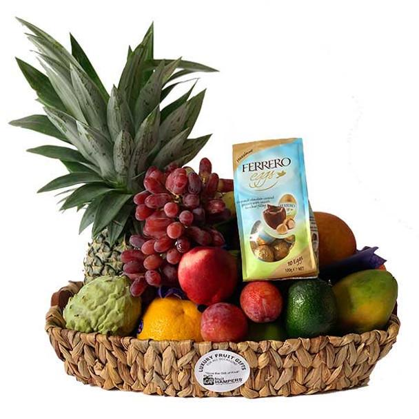 Easter Basket - Fruit Gift + Chocolate Eggs