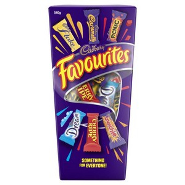 Favourites Boxed Chocolates 540g