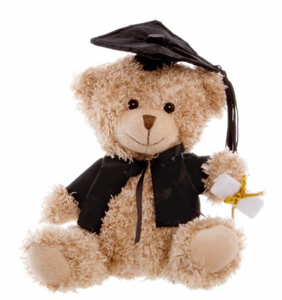 Graduation Gifts - Teddy Bear 25cm Standing