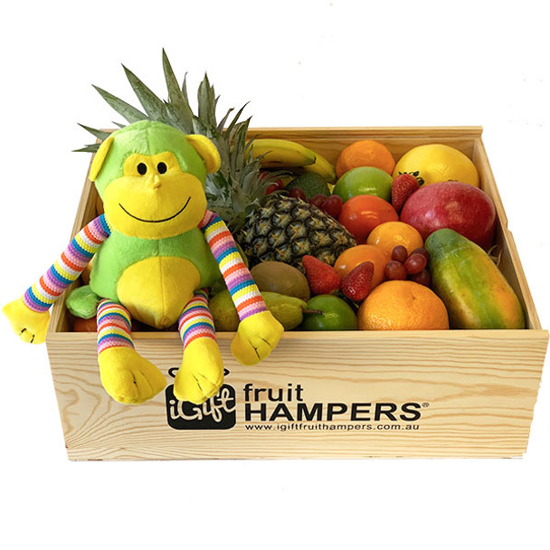 Gift Hamper Box - Funky Monkey Green