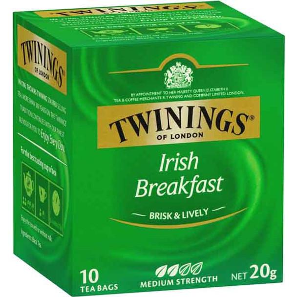 Twinings Irish Breakfast Tea 10 pk