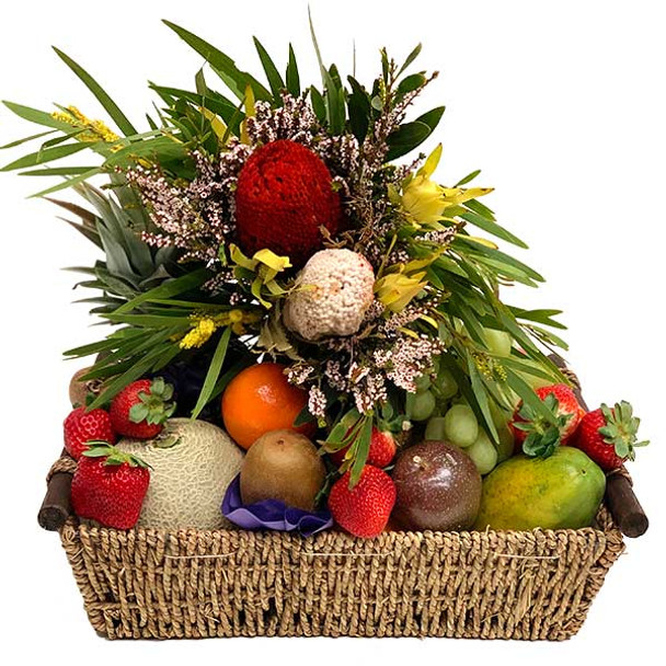 Fruit Basket | Native Flowers Gift