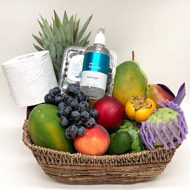 Get Well Gift Basket + Hand Sanitiser
