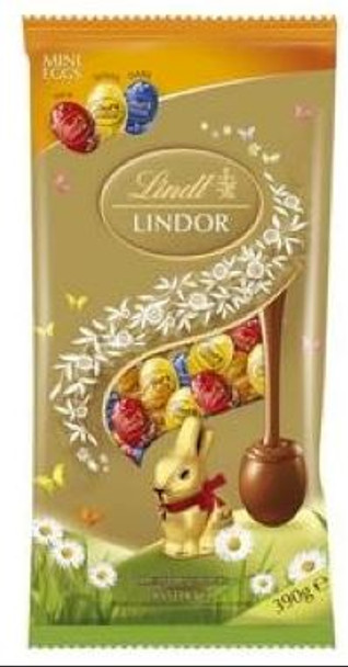 Lindt Lindor Assorted Easter Eggs 390g