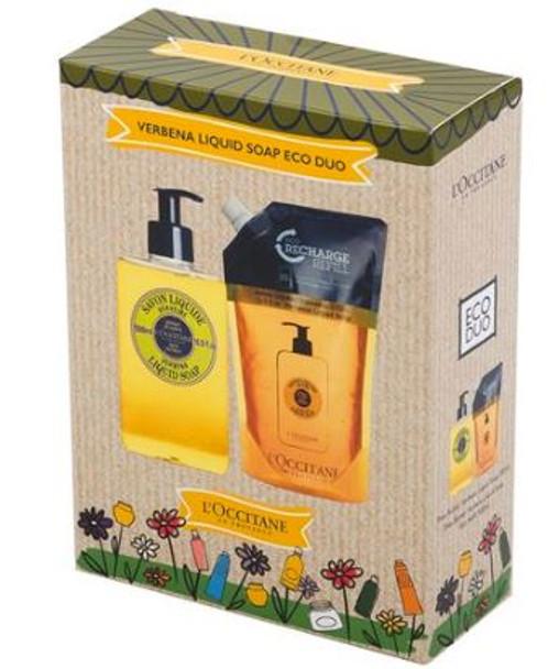 L'Occitane Verbena Liquid Soap Eco Duo 2pce