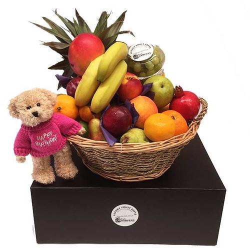 Birthday Hamper With Message Bear 378071553028976500500c2