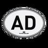 BC/AD Stickers