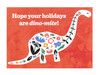 Holiday Dinosaur Cards