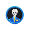 Crypt Management Time Badge