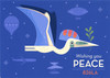 Wishing You Peace 2018 Holiday Card
