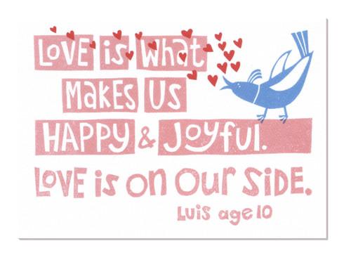 Happy Joyful Greeting Card