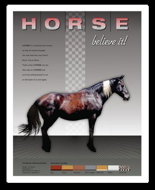 Horse 8x10 Print